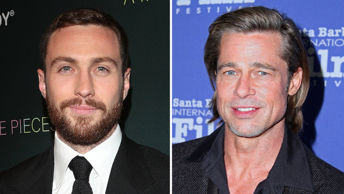 Aaron Taylor-Johnson Joins Brad Pitt In Sony's Action Pic 'Bullet Train'
